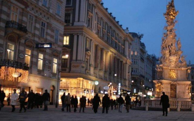 Отель Pension a und a вид на фасад