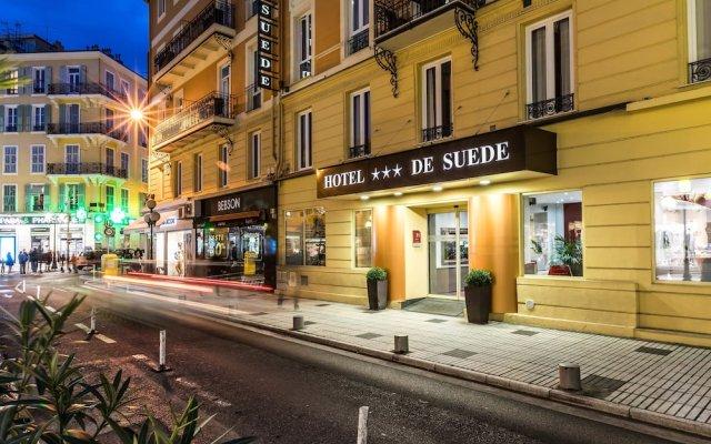 Отель De Suede Ницца вид на фасад