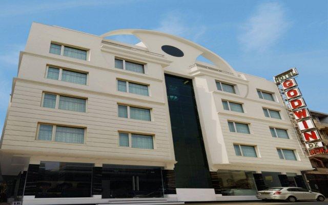 Отель Godwin Deluxe Индия, Нью-Дели - 1 отзыв об отеле, цены и фото номеров - забронировать отель Godwin Deluxe онлайн вид на фасад