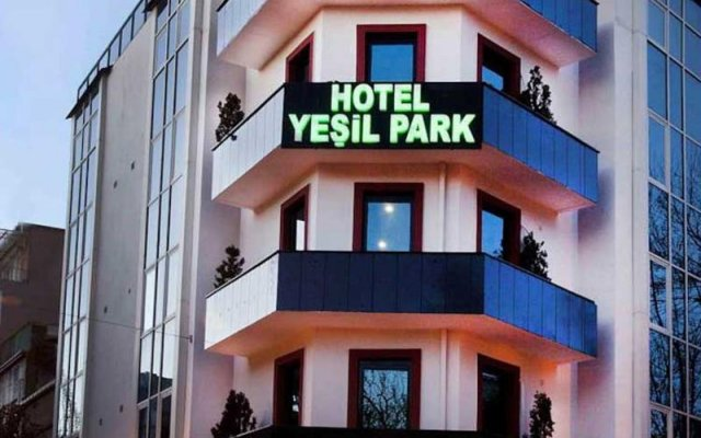 Hotel Yesilpark вид на фасад