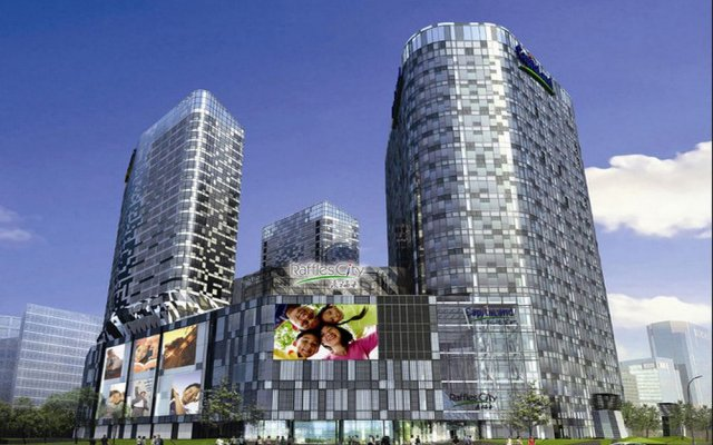 Отель Ascott Raffles City Beijing Китай, Пекин - отзывы, цены и фото номеров - забронировать отель Ascott Raffles City Beijing онлайн вид на фасад