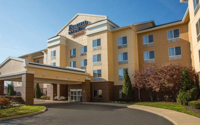 Отель Fairfield Inn & Suites by Marriott Columbus OSU США, Колумбус - отзывы, цены и фото номеров - забронировать отель Fairfield Inn & Suites by Marriott Columbus OSU онлайн вид на фасад