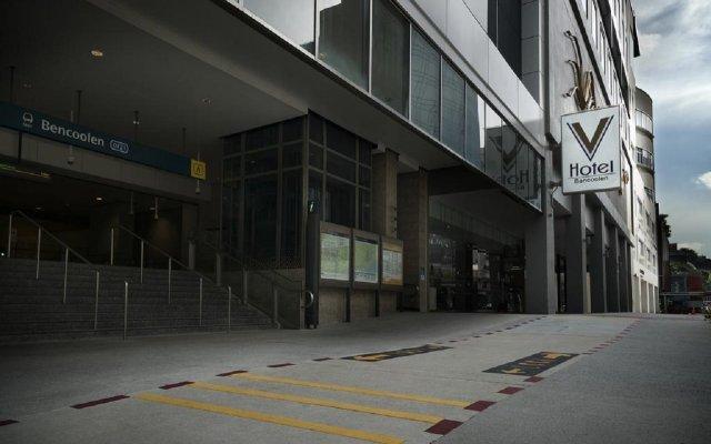Отель V Bencoolen Сингапур вид на фасад