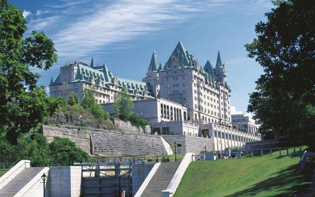 Отель Fairmont Chateau Laurier Канада, Оттава - отзывы, цены и фото номеров - забронировать отель Fairmont Chateau Laurier онлайн вид на фасад