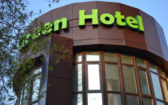 Гостиница Грин Отель в Иркутске 1 отзыв об отеле, цены и фото номеров - забронировать гостиницу Грин Отель онлайн Иркутск вид на фасад