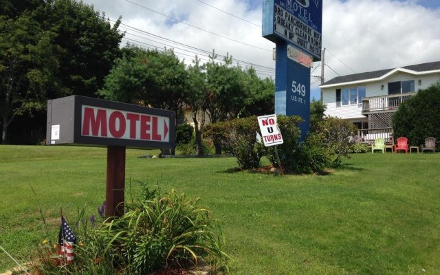 Отель Admiral Motel США, Скарборо - отзывы, цены и фото номеров - забронировать отель Admiral Motel онлайн вид на фасад