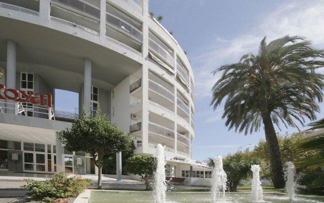 Отель Royal Apartamentos Rentalmar вид на фасад