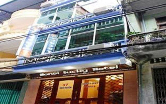 Hanoi Lucky I Hotel вид на фасад
