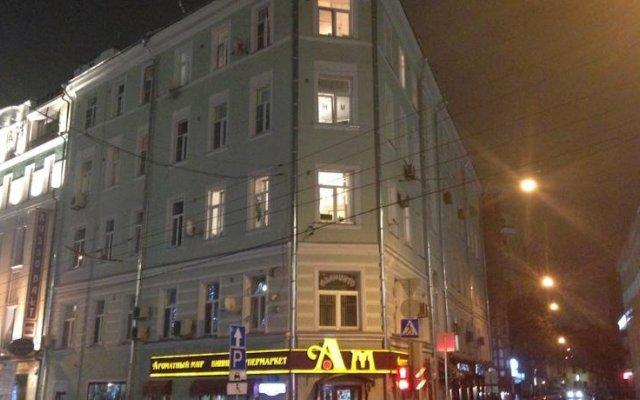 Hostel Moscow 444 вид на фасад