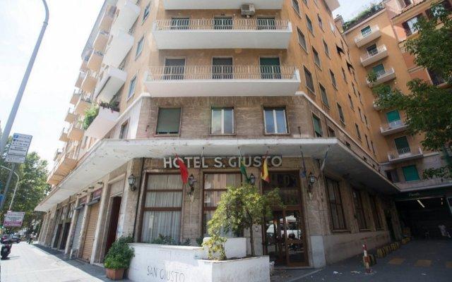 Hotel San Giusto вид на фасад
