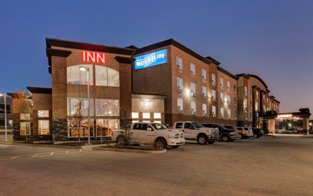 Отель Service Plus Inns & Suites Calgary Канада, Калгари - отзывы, цены и фото номеров - забронировать отель Service Plus Inns & Suites Calgary онлайн вид на фасад