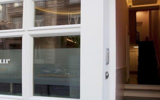Отель Art de Séjour Бельгия, Брюссель - отзывы, цены и фото номеров - забронировать отель Art de Séjour онлайн вид на фасад