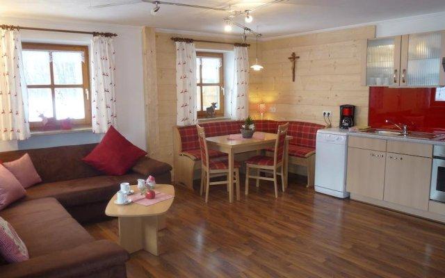 Отель Gästehaus Ferienwohnungen Pfeffererlehen Марктшелленберг комната для гостей