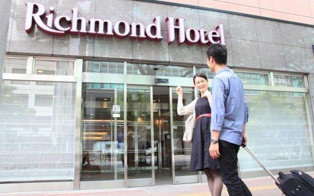 Отель Richmond Hakata Ekimae Хаката вид на фасад
