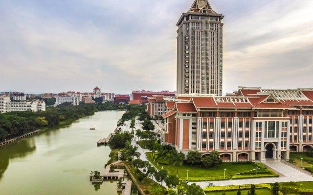 Отель Xiamen Mingdian Business Hotel Китай, Сямынь - отзывы, цены и фото номеров - забронировать отель Xiamen Mingdian Business Hotel онлайн балкон