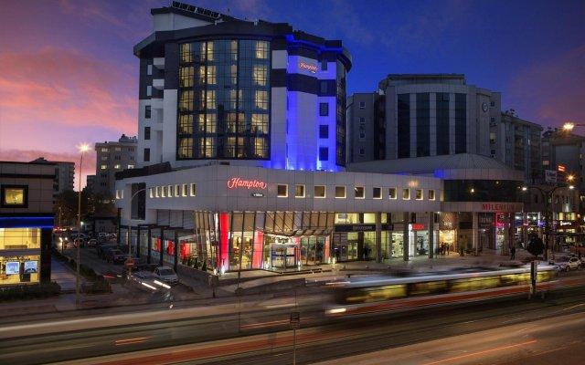 Отель Hampton By Hilton Gaziantep City Centre вид на фасад