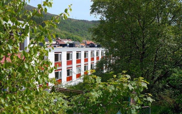 Bergen Hostel Montana Берген вид на фасад