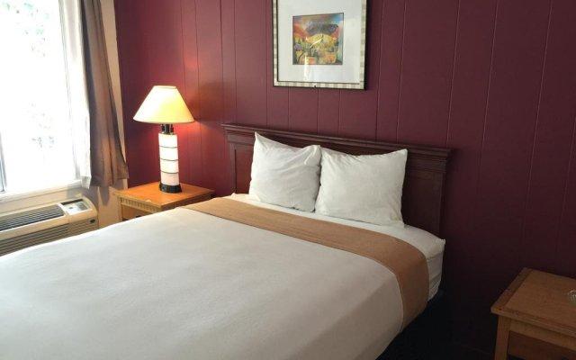 Отель Holiday Lodge США, Лос-Анджелес - отзывы, цены и фото номеров - забронировать отель Holiday Lodge онлайн комната для гостей