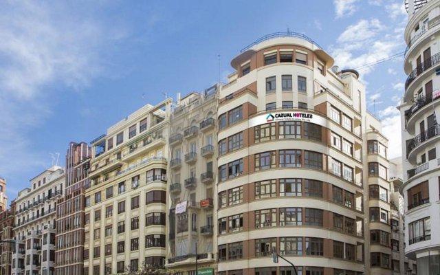 Отель Casual Vintage Valencia Испания, Валенсия - 3 отзыва об отеле, цены и фото номеров - забронировать отель Casual Vintage Valencia онлайн вид на фасад