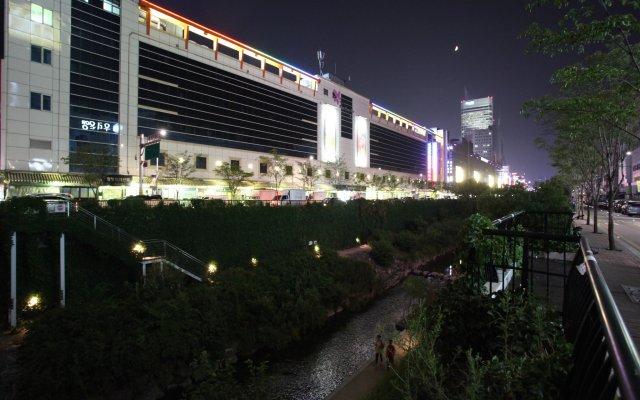 Отель Vatica Hotel Dongdaemun Южная Корея, Сеул - отзывы, цены и фото номеров - забронировать отель Vatica Hotel Dongdaemun онлайн вид на фасад