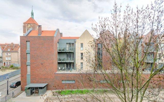 Апартаменты Dom & House - Apartments Downtown Gdansk вид на фасад