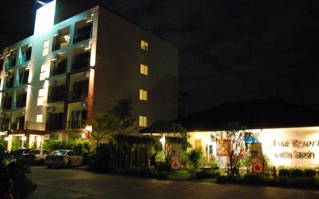 Отель Asia Resort Kaset Nawamin Таиланд, Бангкок - отзывы, цены и фото номеров - забронировать отель Asia Resort Kaset Nawamin онлайн вид на фасад