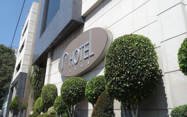 Отель Bonn Мексика, Мехико - отзывы, цены и фото номеров - забронировать отель Bonn онлайн вид на фасад