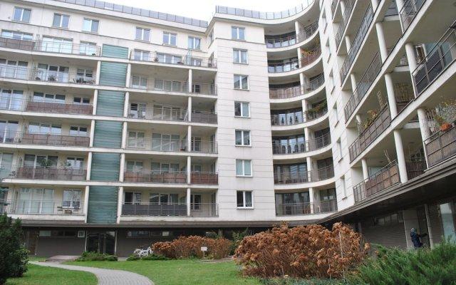 Отель Zoliborz Apartament вид на фасад