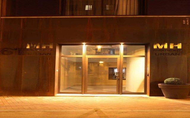 Отель MH Apartments Urban Испания, Барселона - 1 отзыв об отеле, цены и фото номеров - забронировать отель MH Apartments Urban онлайн вид на фасад