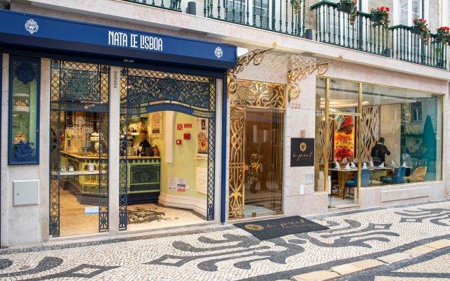Отель Be Poet Baixa Hotel Португалия, Лиссабон - отзывы, цены и фото номеров - забронировать отель Be Poet Baixa Hotel онлайн вид на фасад