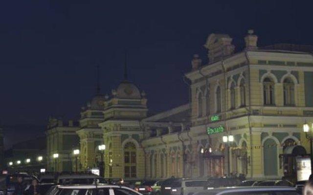 Гостиница Jam Hotel в Иркутске отзывы, цены и фото номеров - забронировать гостиницу Jam Hotel онлайн Иркутск вид на фасад
