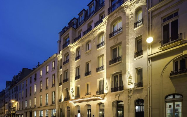 Hotel L'Echiquier Opéra Paris MGallery by Sofitel вид на фасад