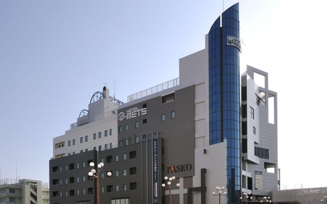 Jr-East Hotel Mets Utsunomiya Уцуномия вид на фасад