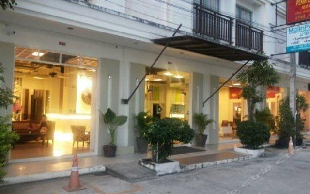 Malin Patong Hotel вид на фасад