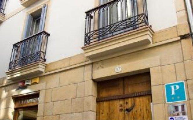 Отель Pensión Ur-alde Сан-Себастьян вид на фасад
