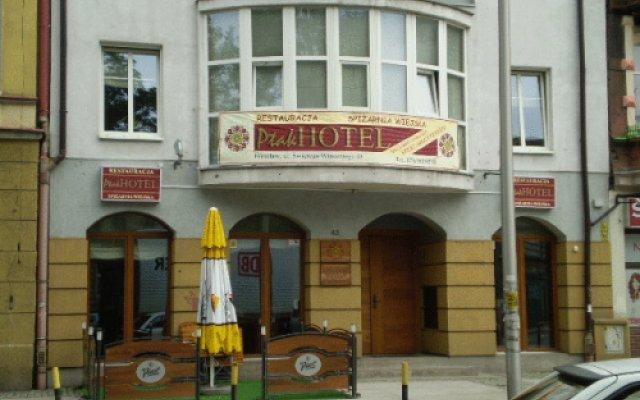 Ptak Hotel Вроцлав вид на фасад