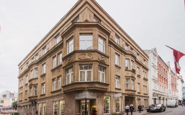 Апартаменты Old Riga Apartments вид на фасад