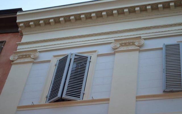 Отель Palazzo Niccolini Сполето вид на фасад
