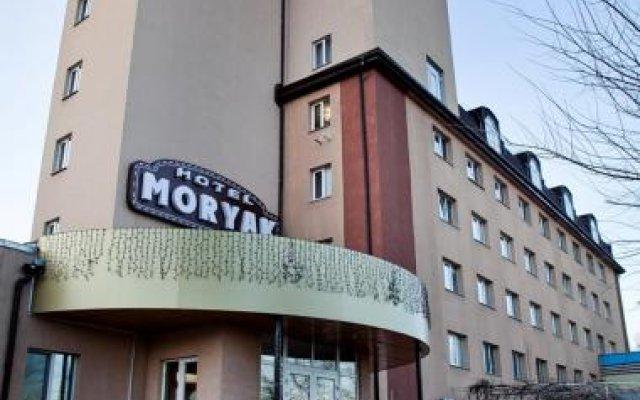 Гостиничный комплекс Моряк Мариуполь вид на фасад