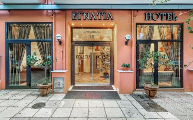 Egnatia Hotel вид на фасад