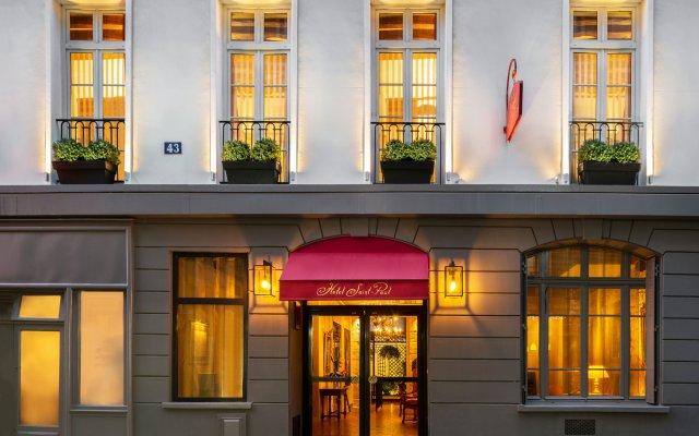 Отель Hôtel Saint Paul Rive Gauche вид на фасад
