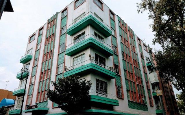 Отель Comodo Y Atractivo Departamento Isa 96 Мехико вид на фасад