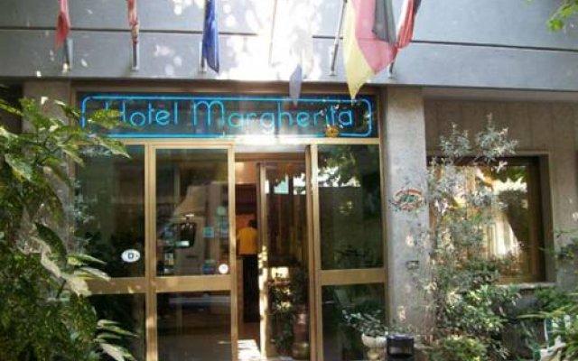Отель Albergo Margherita Кьянчиано Терме вид на фасад