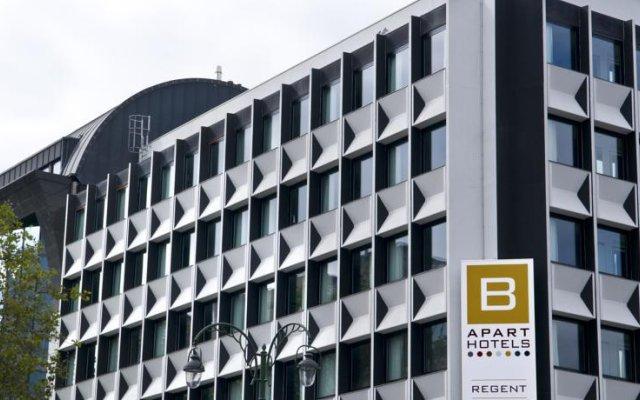 Отель B-aparthotel Regent Бельгия, Брюссель - 3 отзыва об отеле, цены и фото номеров - забронировать отель B-aparthotel Regent онлайн вид на фасад
