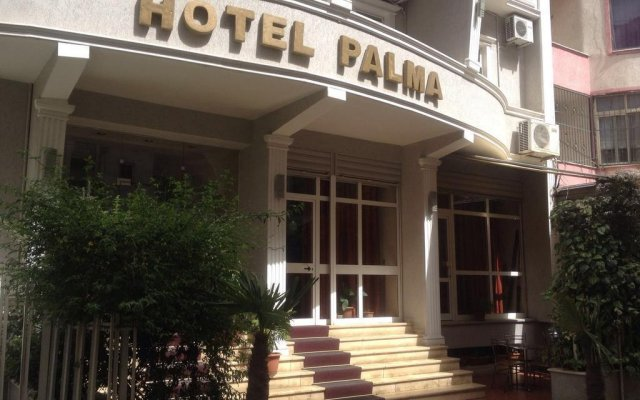 Hotel Palma вид на фасад