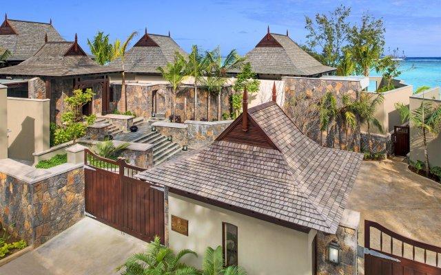 Отель The St. Regis Mauritius Resort вид на фасад