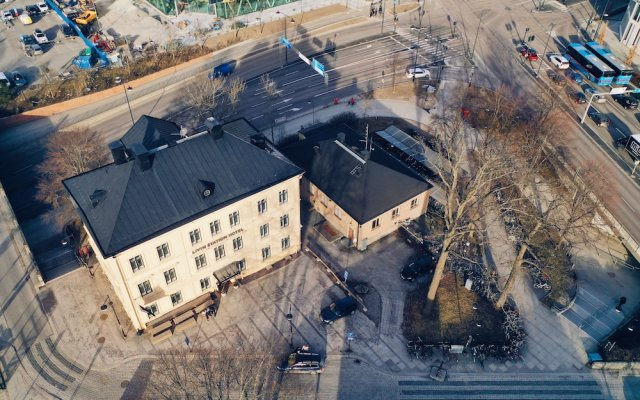 Отель Livin Station Швеция, Эребру - отзывы, цены и фото номеров - забронировать отель Livin Station онлайн вид на фасад
