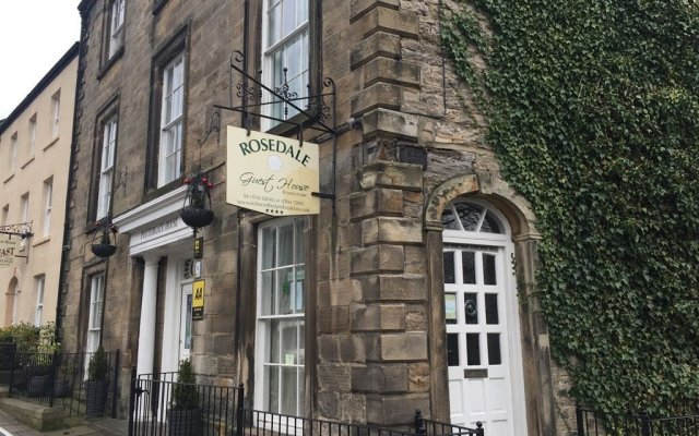 Отель Rosedale Guest House вид на фасад