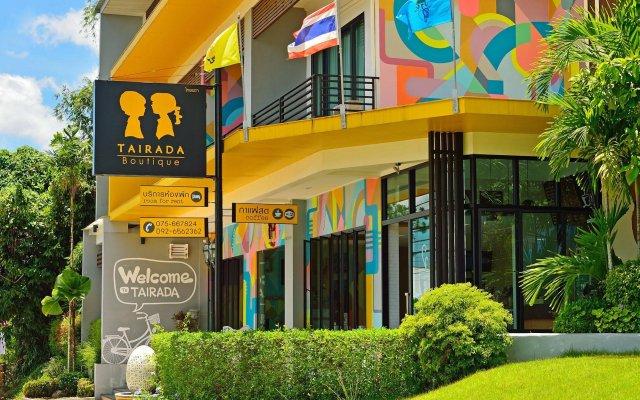 Отель Tairada Boutique Hotel Таиланд, Краби - отзывы, цены и фото номеров - забронировать отель Tairada Boutique Hotel онлайн вид на фасад