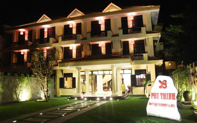Отель Phu Thinh Boutique Resort & Spa вид на фасад
